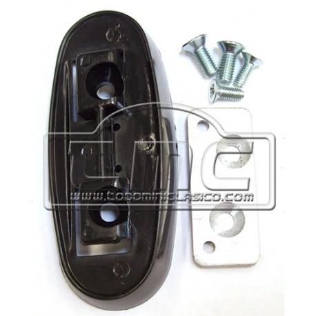soporte de retrovisor de la puerta izquierda