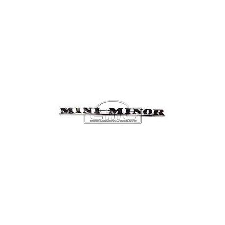 insignia mini minor