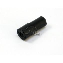 Conector recto de goma del tubo de vació