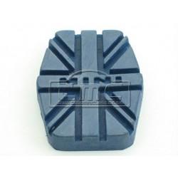 Goma del pedal freno/embrague azul