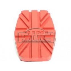 Goma del pedal freno/embrague rojo