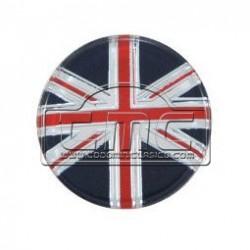 Emblema union jack para pomo del cambio