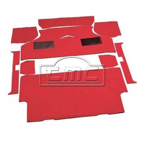 Moqueta roja completa