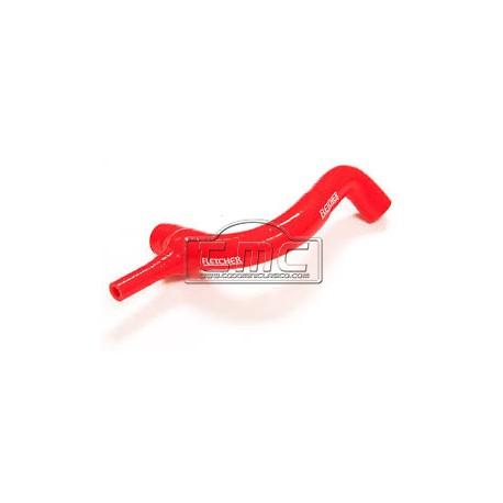 Manguito inferior silicona rojo