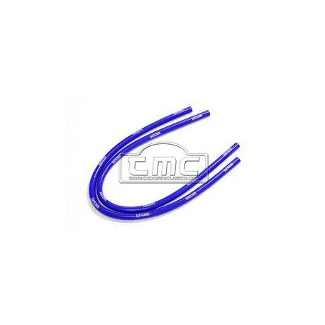 Manguitos calefacción silicona azul