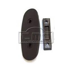 Soporte de retrovisor de la puerta derecha
