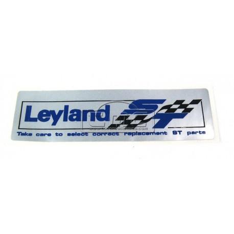 Pegatina engomada Leyland