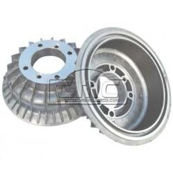 Tambores aluminio con separador