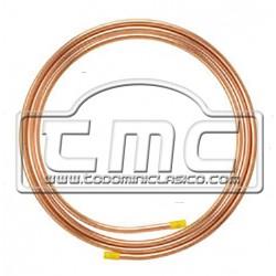 Tubo gasolina cobre