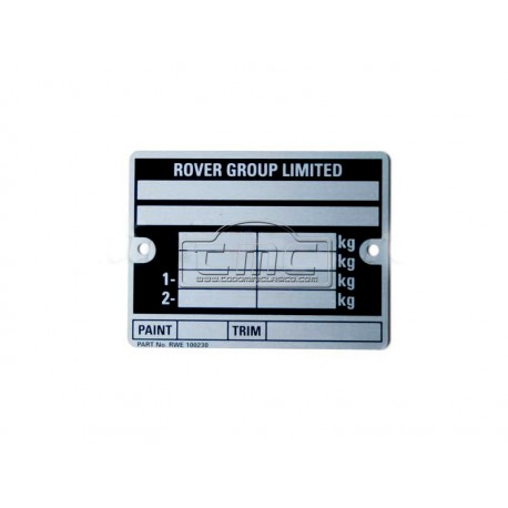 Placa chasis rover