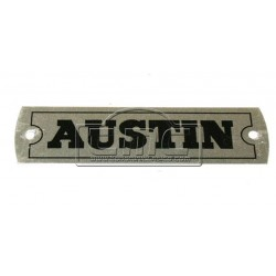 Placa Austin tapa balancines