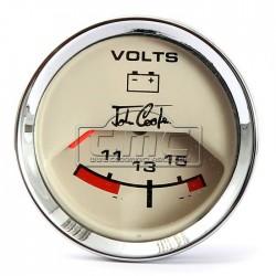 Reloj Voltímetro John Cooper