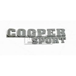 Anagrama Cooper sport