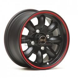 Ultralite 13x7 negro/rojo