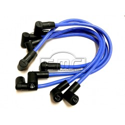 Juego cables bujía 8mm azules